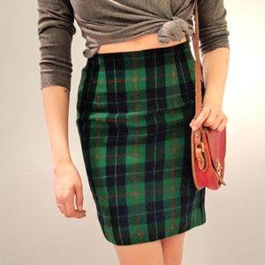 Plaid Talbots Skirt!